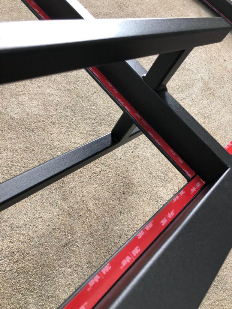 Stalen deur coating
